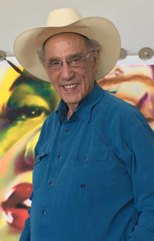 James Francis Gill in his Studio in Texas - Pop Art artist presented by Premium Modern Art