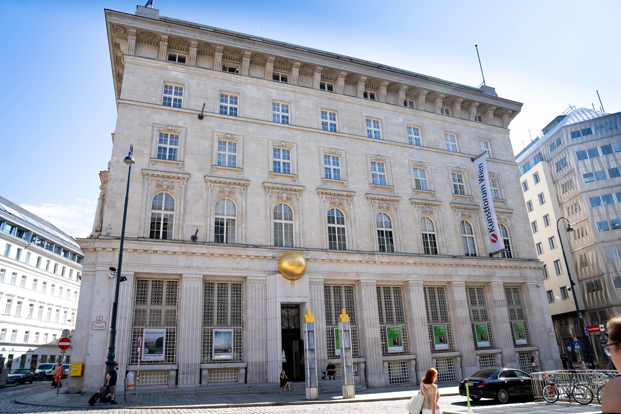 Kunstforum Wien Bank Austria James Gill Premium Modern Art