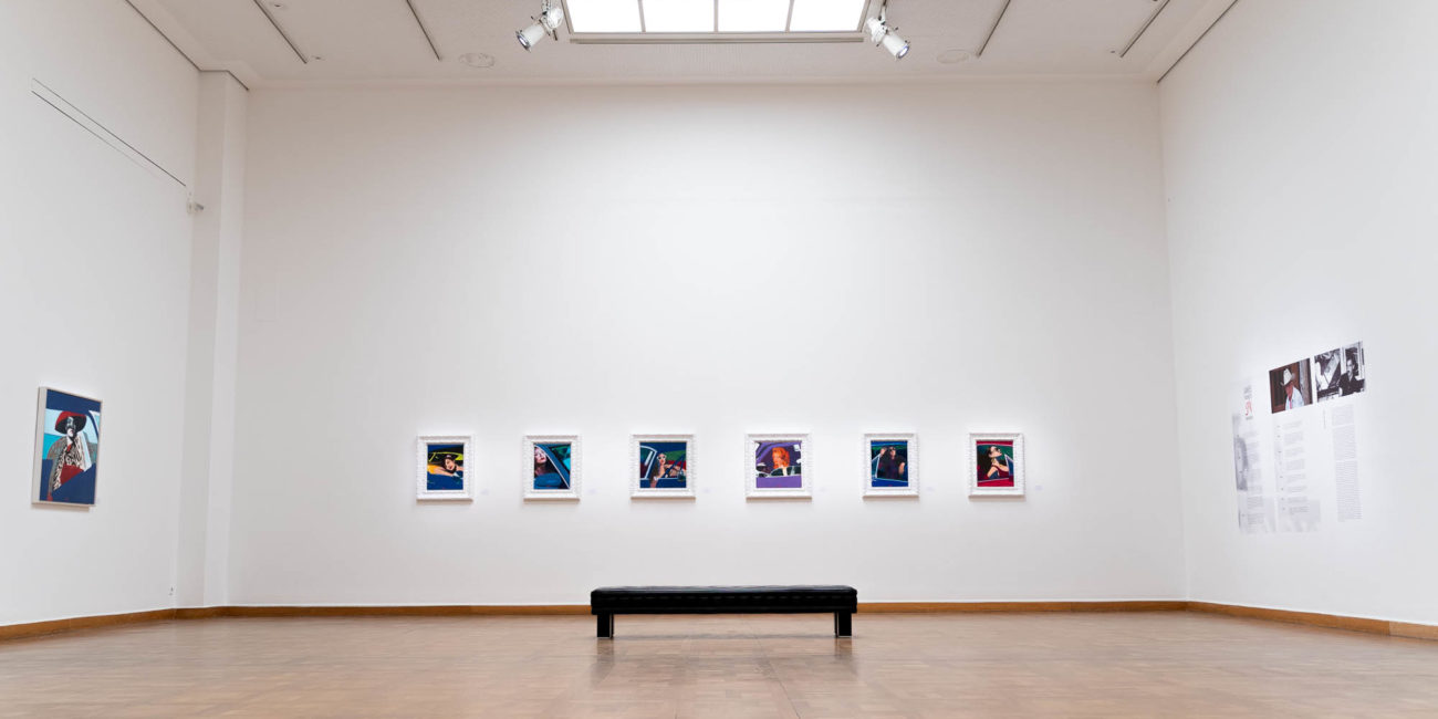 Kunstforum Wien James Gill Ausstellung Premium Modern Art