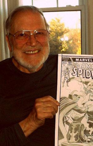 John Romita Senior Marvel Artist Premium Modern Art