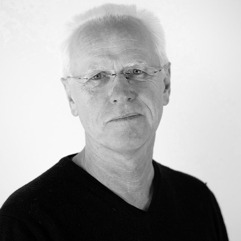 Ulrich Lipp Portrait schwarz weiß Premium Modern Art